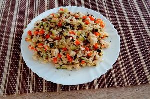 Hundefutter selber kochen. Hühnerbrustmenü für Hunde